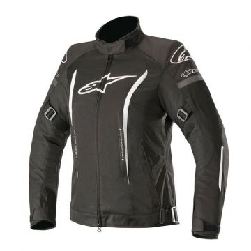 Alpinestars Stella Gunner v2 Waterproof Motorcycle Motorbike Jacket Black White